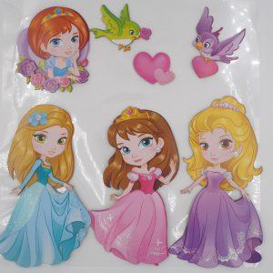 Sticker Hobbyfun_Prinzessinnen