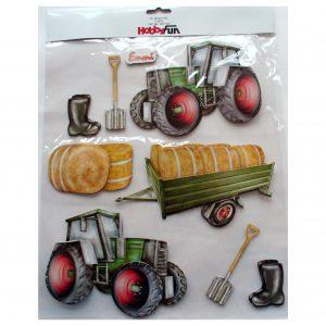 Sticker Hobbyfun_traktor